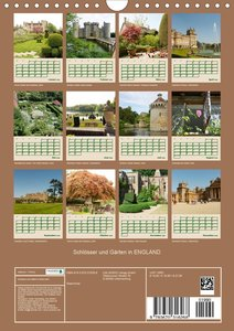 Schlösser und Gärten in England