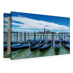 Premium Textil-Leinwand 75 cm x 50 cm quer Venedig