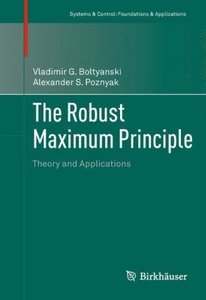 The Robust Maximum Principle