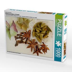 Ein Motiv aus dem Kalender Hortensienliebe in Pastell 1000 Teile