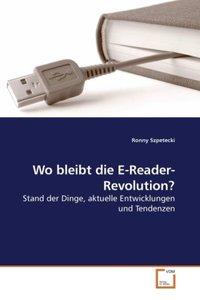 Wo bleibt die E-Reader-Revolution?