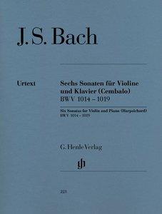 Sechs Sonaten für Violine und Klavier (Cembalo) BWV 1014 - 1019