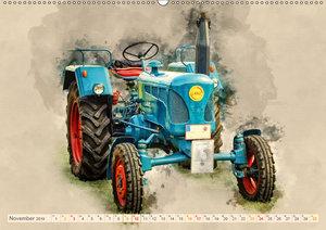Traktoren - alte Schätze für Liebhaber (Wandkalender 2019 DIN A2