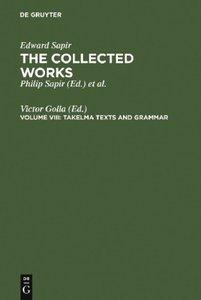Takelma Texts and Grammar
