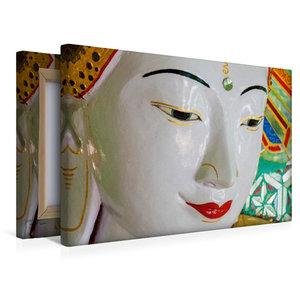 Premium Textil-Leinwand 45 cm x 30 cm quer U Min Thonze Pagode,
