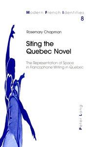 Siting the Quebec Novel