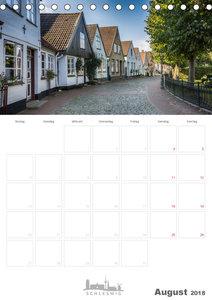 Grüße aus der Schleistadt Schleswig (Tischkalender 2018 DIN A5 h