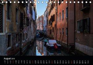 Venedig und Burano - Ein Tag in der Lagune (Tischkalender 2019 D