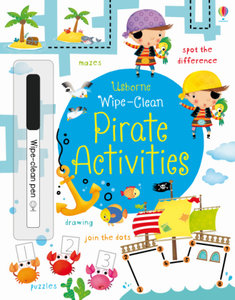 Wipe-Clean Pirate Activities