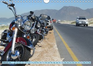 Mit Harleys am Western Cape