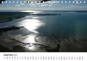Neuseelands traumhafte Küsten aus der Luft (Tischkalender 2019 D