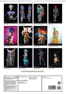 World Bodypainting Festival #21 (Wandkalender 2020 DIN A3 hoch)