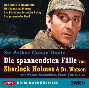 Die spannendsten Fälle von Sherlock Holmes & Dr. Watson, 5 Audio