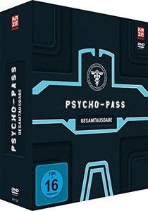 Psycho Pass - 1. Staffel - Gesamtausgabe - DVD Box (4 DVDs)