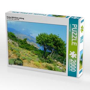 CALVENDO Puzzle Kretas NW-Küste entlang 2000 Teile Lege-Größe 90