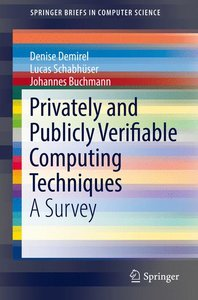Privately and Publicly Verifiable Computing Techniques