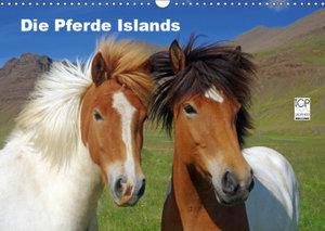 Die Pferde Islands (Wandkalender 2019 DIN A3 quer)