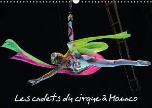 Les cadets du cirque à Monaco (Calendrier mural 2015 DIN A3 hori