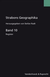 Strabons Geographika. Band 10