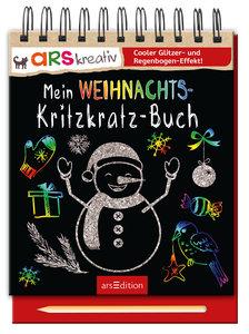 Mein Weihnachts- Kritzkratz-Buch