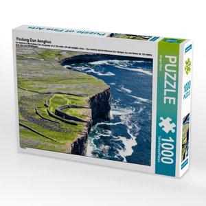 Festung Dun Aenghus 1000 Teile Puzzle quer