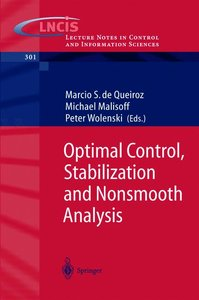 Optimal Control, Stabilization and Nonsmooth Analysis