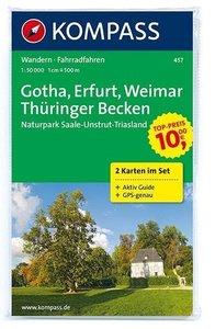 Gotha - Erfurt - Weimar - Thüringer Becken - Saale-Unstrut-Trias
