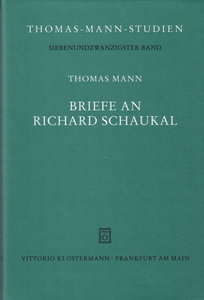 Briefe an Richard Schaukal