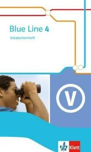 Blue Line. Vokabellernheft 8. Schuljahr. Ausgabe 2014