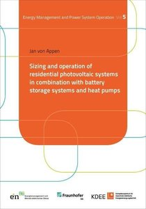 Sizing and operation of residential photovoltaic systems in comb