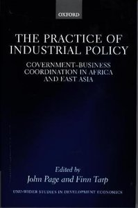 PRAC OF INDUSTRIAL POLICY