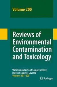 Reviews of Environmental Contamination and Toxicology 200