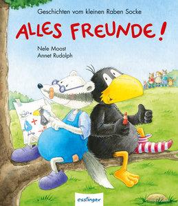Kleiner Rabe Socke: Alles Freunde!, Geschichten vom kleinen Rabe