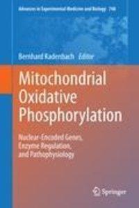 Mitochondrial Oxidative Phosphorylation