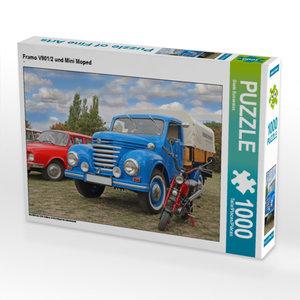 CALVENDO Puzzle Framo V901/2 und Mini Moped 1000 Teile Lege-Größ