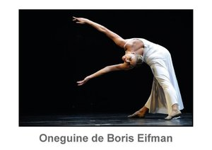 Oneguine de Boris Eifman (Livre poster DIN A3 horizontal)