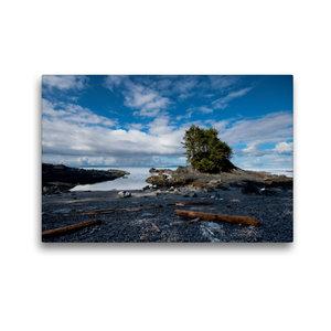 Premium Textil-Leinwand 45 cm x 30 cm quer Botany Bay