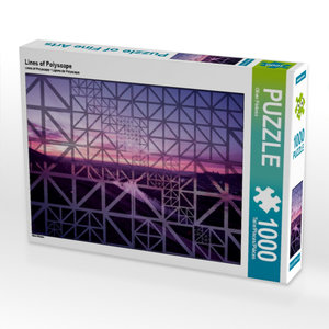 Lines of Polyscape 1000 Teile Puzzle quer