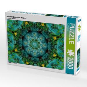 CALVENDO Puzzle Mitgefühl Chakra des Herzens 2000 Teile Lege-Grö