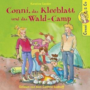 K.Sander: Conni,Das Kleeblatt Und Das Wald-Camp