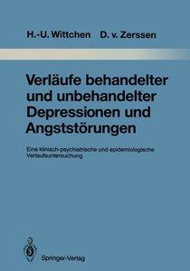 Verläufe behandelter und unbehandelter Depressionen und Angststö