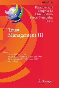 Trust Management III