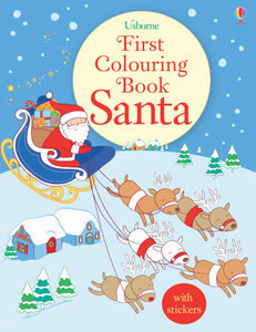 First Colouring Book Santa