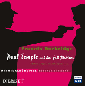 Paul Temple und der Fall Madison. 4 CDs