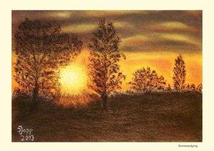 Kraft von Sonne und Natur (Posterbuch DIN A4 quer)