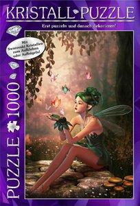 M.I.C. Swarovski Kristall Puzzle Motiv: Fairy Forrest. 1000 Teil