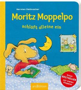 Moritz Moppelpo schläft alleine ein