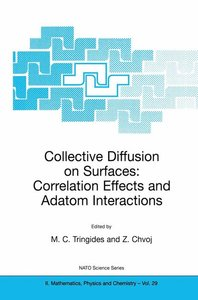 Collective Diffusion on Surfaces: Correlation Effects and Adatom
