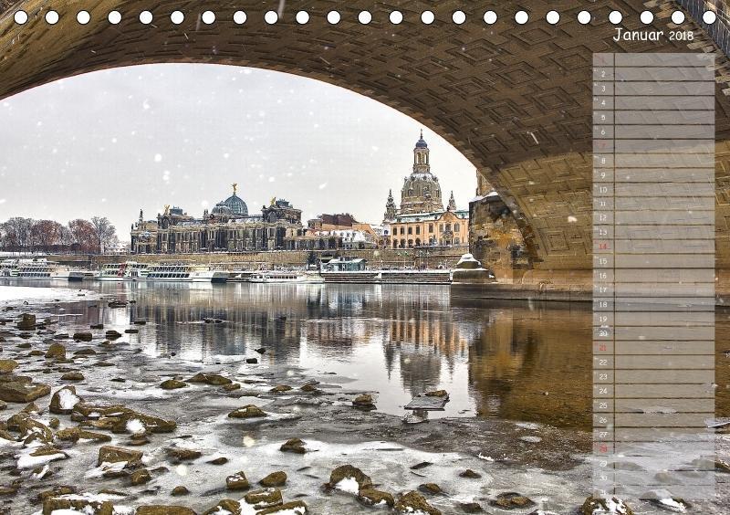 Dresden Impressionen 2018 / Geburtstagskalender - zum Schließen ins Bild klicken