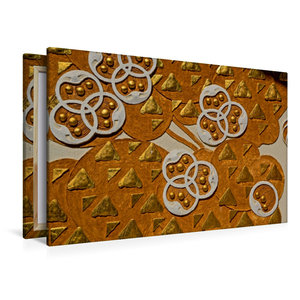 Premium Textil-Leinwand 120 cm x 80 cm quer Ornamente am Ernst-L